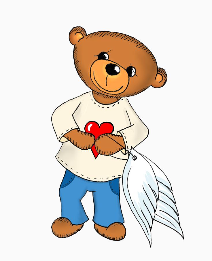 Vorschaubild für das Projekt Teddyengel